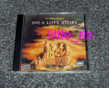 ***1942 A Love Story*** Bollywood/Indian Soundtrack CD Made in UK