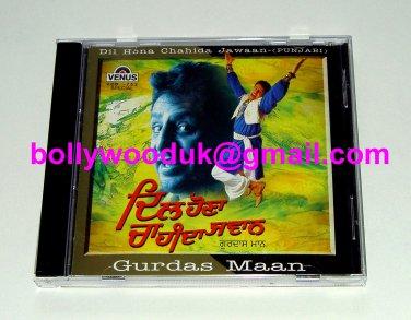 Gurdas Maan: Dil Hona Chahida Jawaan - Punjabi CD Bollywood, Maybe Bhangra