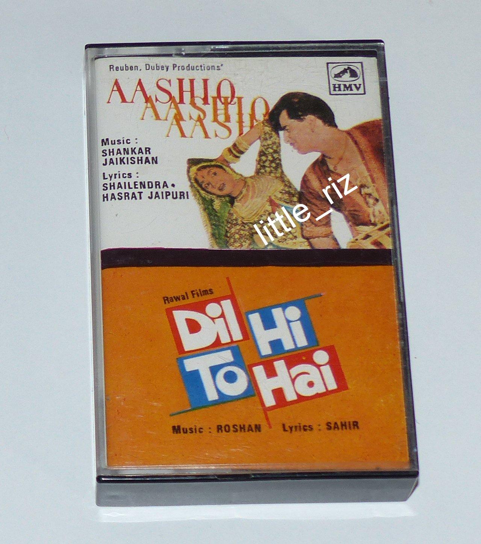 Aashiq (1962) / Dil Hi To Hai (1963) � Bollywood Indian Soundtrack Cassette Tape Shankar Jaikishan