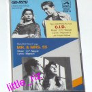 C.I.D. (1956) / Mr & Mrs 55 (1955) – Bollywood Indian Cassette Tape O.P. Nayyar