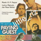 C.I.D. (1956) / Paying Guest (1957) – Bollywood Indian Cassette Tape O.P. Nayyar, S.D. Burman