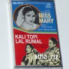 Miss Mary (1957) / Kali Topi Lal Rumal (1959) – Bollywood Indian Cassette Tape