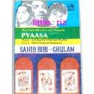 Pyaasa / Sahib Bibi Aur Ghulam - Bollywood Indian Cassette Tape S.D. Burman, Hemant Kumar