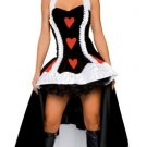 Enchanting Queen of Hearts with Gown