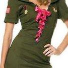 Pin Up Cadet Costume