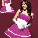 Elegant Bunny Princess Costume in 5 Different Colors