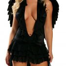 Earth Angel Costume Black or White