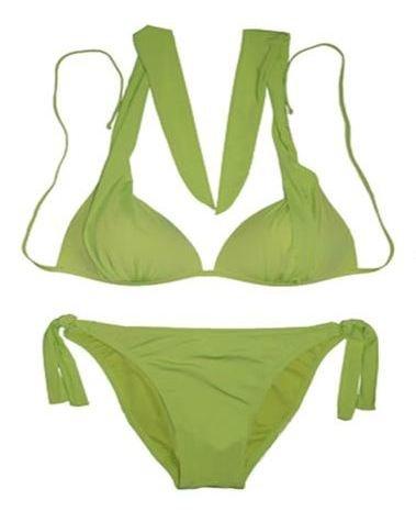 2pc Designer Bikini (Black,Green,Red)