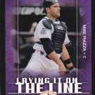 2003 Upper Deck Victory Laying it on the Line Mike Piazza