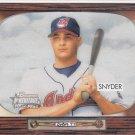 2004 Bowman Heritage Brad Snyder  rookie card