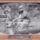 2004 Bowman Heritage Joe Mauer rookie card