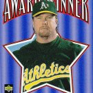 1996 Collectors Choice Award Winner Mark McGwire