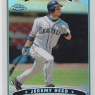 2006 Topps Chrome Jeremy Reed Refractor