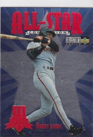 1997 Collectors Choice All Star Barry Bonds