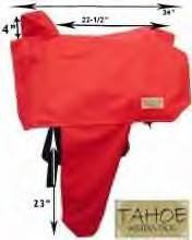 Premium Western Horse Tack Saddle Cover