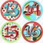 LOLLI DOTS ONESIE STICKERS 13 to 24 months by Onesie Stickers baby shower gifts