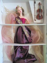 BARBIE ANGELS OF MUSIC COLLECTION HEARTSTRING ANGEL 2ND IN SERIES RETIRED 1997