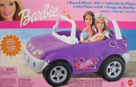 Barbie Beach Blast 4 x 4 Vehicle w Stylish Sporty Design! (2002)