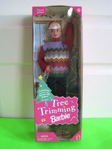 Mattel Barbie - Tree Trimming Barbie Doll - Special Edition Doll (1998)