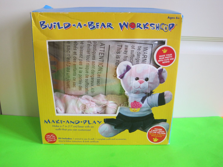 "Colorbok Build A Bear Kit, Sweetheart Bear (7"")"