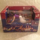 VTG JusToys Disney Aladdin Magic Flying Carpet Motion Toy WORKS! Moves Glides