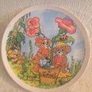 "VTG 1980's Biskitts Hanna-Barbera Cartoon Dog Child's Melamine 9"" Plate"