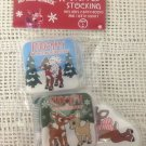 NEW Rudolph Red Nosd Reindeer Christmas Baby Stocking Bath Books & Squirt