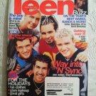 Teen Magazine November 1999 'N Sync Band