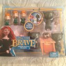 NEW Disney Pixar BRAVE  Movie Transforming Triplets Brothers Into Bears Playset