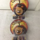Lot 2 NEW Projectables LED Night Light Halloween Jack-O-Lantern Pumpkin