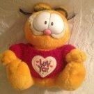 "8"" Garfield Luv Ya! Sweater Valentines Day Plush Stuffed Cat"