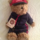 "10"" BOYDS COACH HAYDEN #1 COACH TEDDY BEAR W/ WHISTLE & TAG PLUSH"
