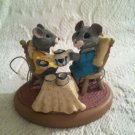 Vintage 1988 Hallmark Tender Touches Mouse Tea Party Everything Better Friend
