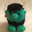 "5"" Swibco Puffkins Plush Stuffed Stitch Frankenstein Halloween Monster W/ Tag"
