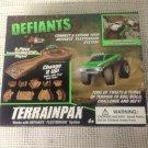 Rare NEW Defiants Terrainpax 9 Pcs Trail Flexterrain System No Vehicle