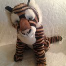"Large 16"" Realistic Looking Stuffed Tiger Peeper Pals A & A Plush VGUC"