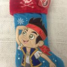 NEW Disney Jake Neverland Pirates Christmas Stocking