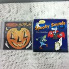 New Lot 2 Halloween Party CDs Howls And Spooky Sounds