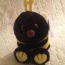 "Rare 5"" Swibco Puffkins Plush Stuffed Buzz Bee W/ Tag"