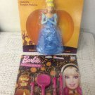 Lot Disney Princess Cinderella & Barbie Pumpkin Decorating Carving Kit Push-Ins