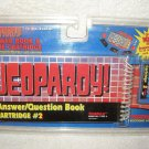 Sealed 1995 Tiger Electronics Jeopardy Answer & Question Book Cartridge #2