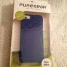 NEW Puregear Soft Shell Case iPhone  5 Compatible Blue For Apple