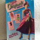 Vintage 1991 Golden Fashion Model Originals Designer Set Doll Art Craft Kit
