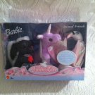 Rare 2003 Barbie Swan Lake Animal Friends Carlita Skunk Lila Unicorn Odette Swan