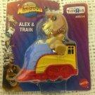 Rare NEW ToysRus Exclusive Dreworks World Of Madagascar Alex Lion On Train