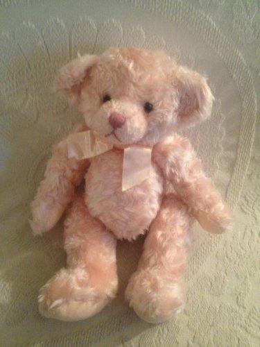 "12"" Russ Isabella Pink Teddy Bear Plush Stuffed EUC"