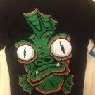 NWT Circo Boys Halloween Tshirt Swamp Thing Monster Large 12/14 Black