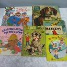 VTG Childrens Book Lot Detective Arthur Playful Little Puppy Adventure Books