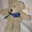 "NWT 1998 9"" plush Boyds Bears in the Attic Muffin the brown bear stuffed w/ tag"