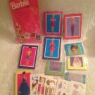 Lot 1993 Play Card 40 Create-a-Barbie, Stickers & 5 Fashion Flip Cards